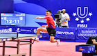 China open table tennis campaign with double gold