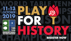 Play for History at the Inaugural ITTF Parkinson's World Table Tennis Championships