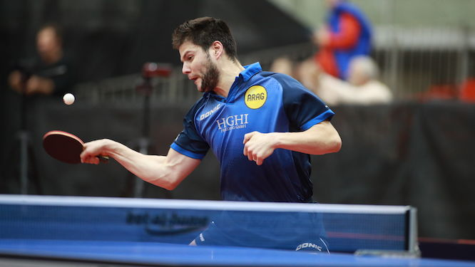 Austrian Open: Dimitrij OVTCHAROV beat Tomokazu HARIMOTO in thriller to reach quarter-finals