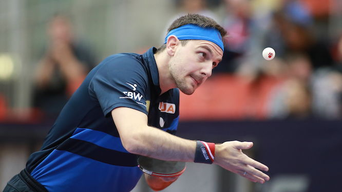 Austrian Open: Timo BOLL wins all-German clash to set up semi-final showdown with FAN Zhendong