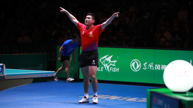 China reign supreme in Tokyo to retain men's and women's ITTF Team World Cups!