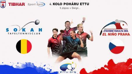 SKK El Nino Praha won in Belgium