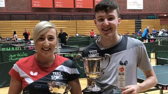 EVANS and CAREY head the men and women seeding lists in Wales