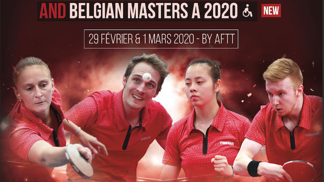 Wheelchairs Masters join the Belgian Championships