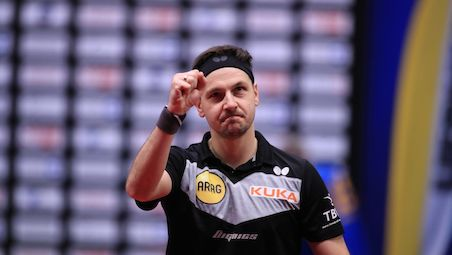 Timo BOLL equaled Jan Ove WALDNER's record with the seventh title