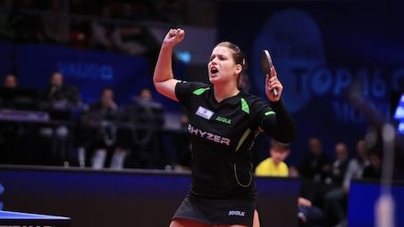 Petrissa SOLJA defended her title