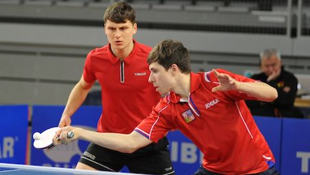 Three nations in run for one gold in Men's Doubles