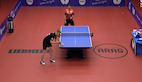 BOLL secured his semi final place at the Düsseldorf Masters