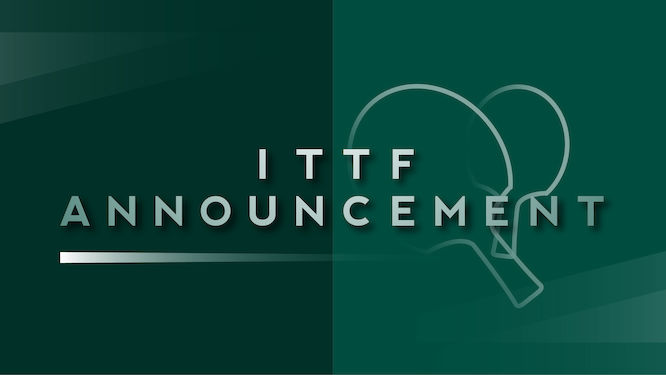 ITTF Executive Committee: July update on COVID-19