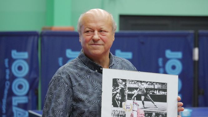 István JÓNYER got a star for the 70th birthday