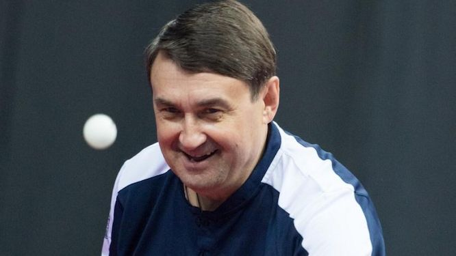 President LEVITIN: Table tennis has been my passion my whole life