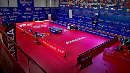 Amazing week of top table tennis in Linz