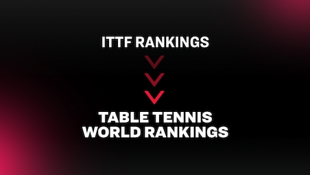 The ITTF Rankings will be known as the Table Tennis World Rankings from 2021