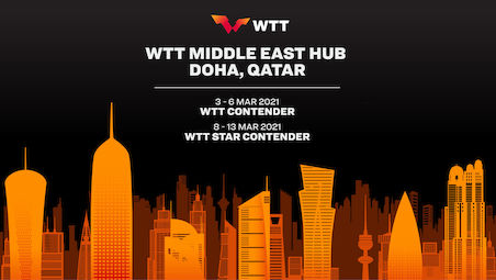 Doha to kick off 2021 events with WTT Middle East Hub