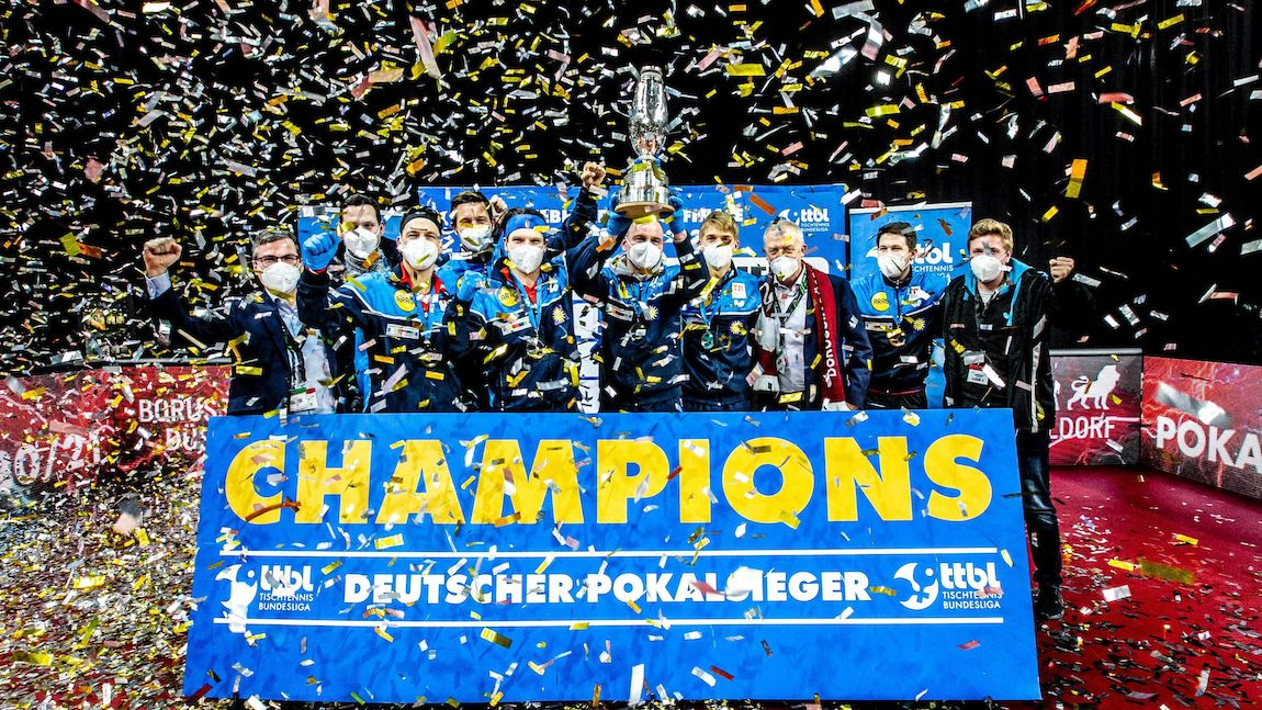 Borussia Düsseldorf clinched the title in the LIEBHERR Cup final