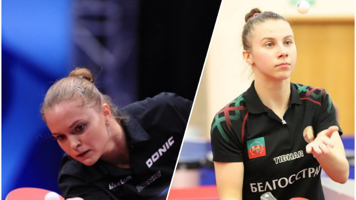 Belarus' female players gave a special tone to the Table Tennis Day