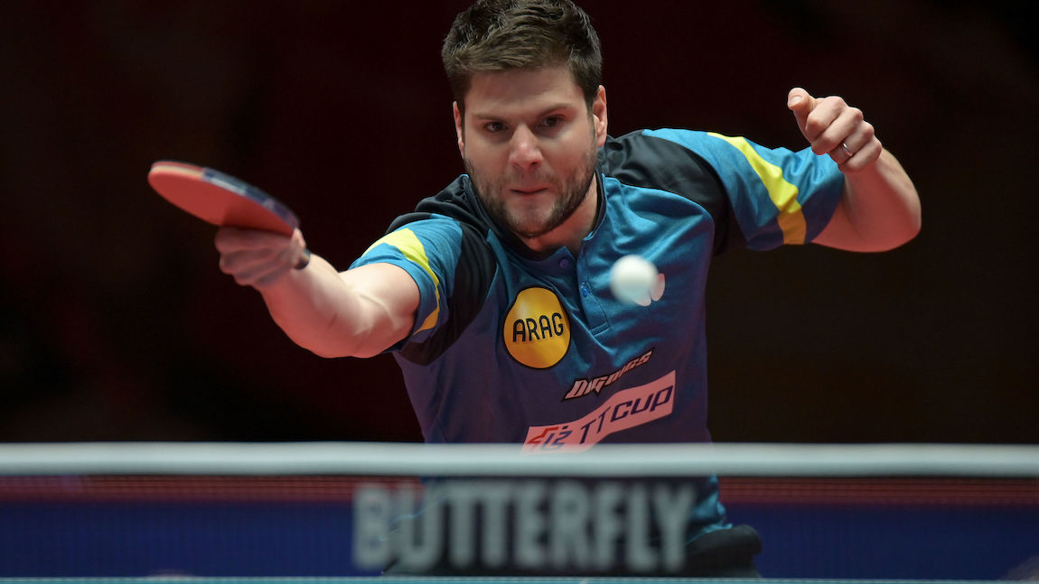 OVTCHAROV won the all - German final against DUDA at the Düsseldorf Masters
