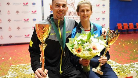 Olga VOROBEVA and Kirill SKACHKOV won the titles at the Russia's national championships