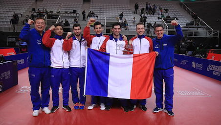 Olympic table tennis teams confirmed for Tokyo