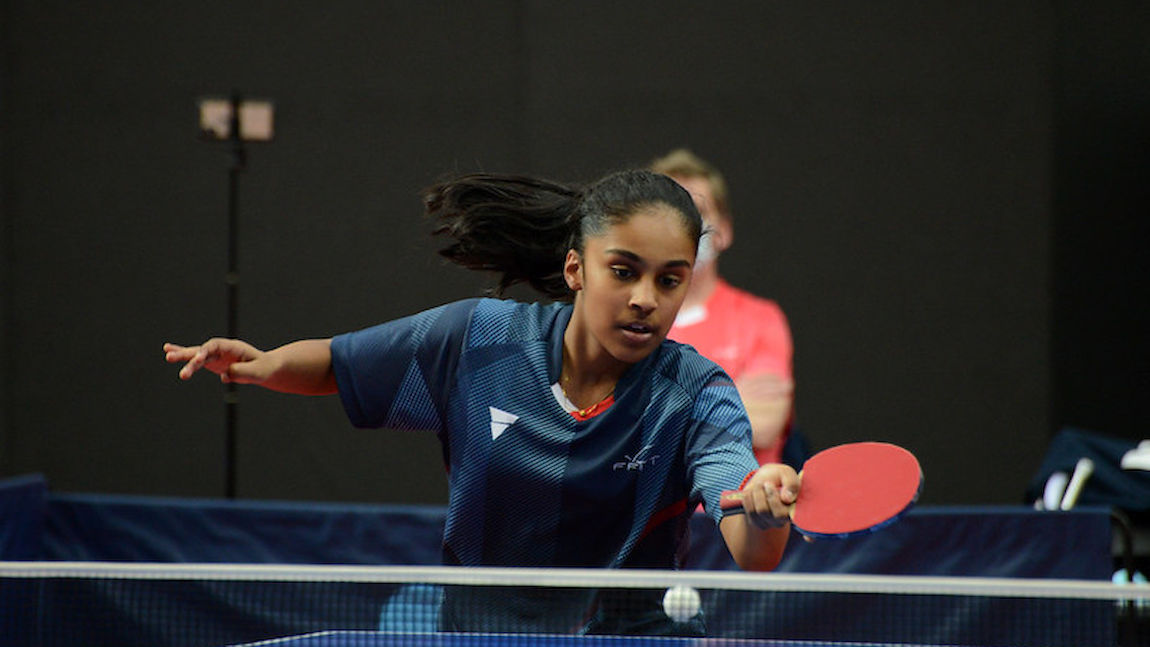 Prithika PAVADE keeps the French flag high in Guimaraes