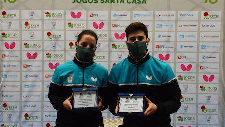 João Geraldo and Leila Oliveira are the Portuguese National Singles Champions