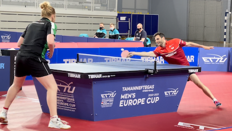 Favorites in good run at the beginning of the Tamanneftegas Europe Cup Men's Final