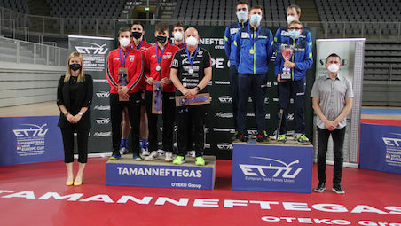 AS Pontoise Cergy clinched the title at the Tamanneftegas Europe Cup Men's Final