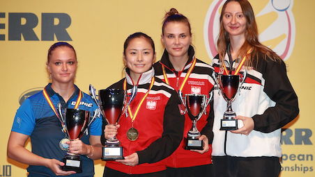 LI Qian defends European title at the home soil in Warsaw