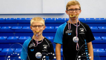 Brothers Alexis and Felix LEBRUN clinched titles in their respective events in Havirov