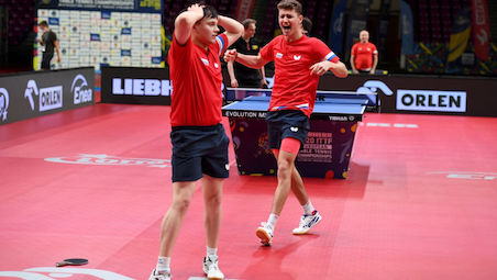 Gold for KATSMAN and GREBNEV in men's Doubles and for SOLJA and SHAN in Women's Doubles Event