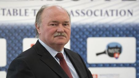 Anton HAMRAN has become the new President of the Slovak Table Tennis Association
