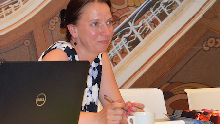 Ina Jozepsone re-elected President of the Table Tennis Federation of Latvia