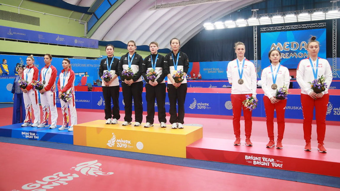European Games hat trick for table tennis as it signs on for 2023 edition