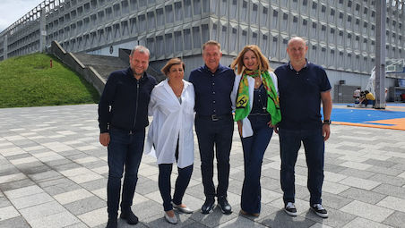 Cluj Napoca getting ready for the European Teams Championships