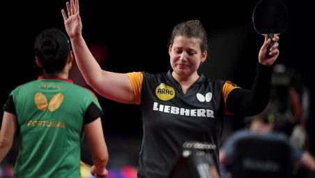 Tears of joy as Petrissa SOLJA finally won the medal in Singles