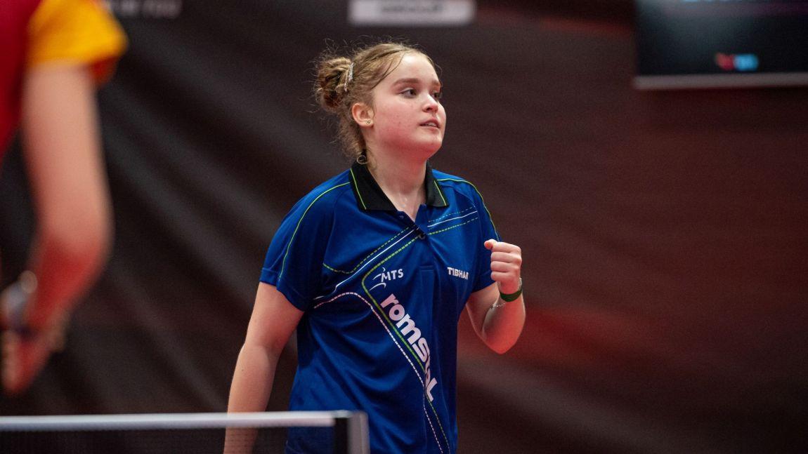 Elena ZAHARIA triumphs in Havirov with Under-17 and Under 19 titles