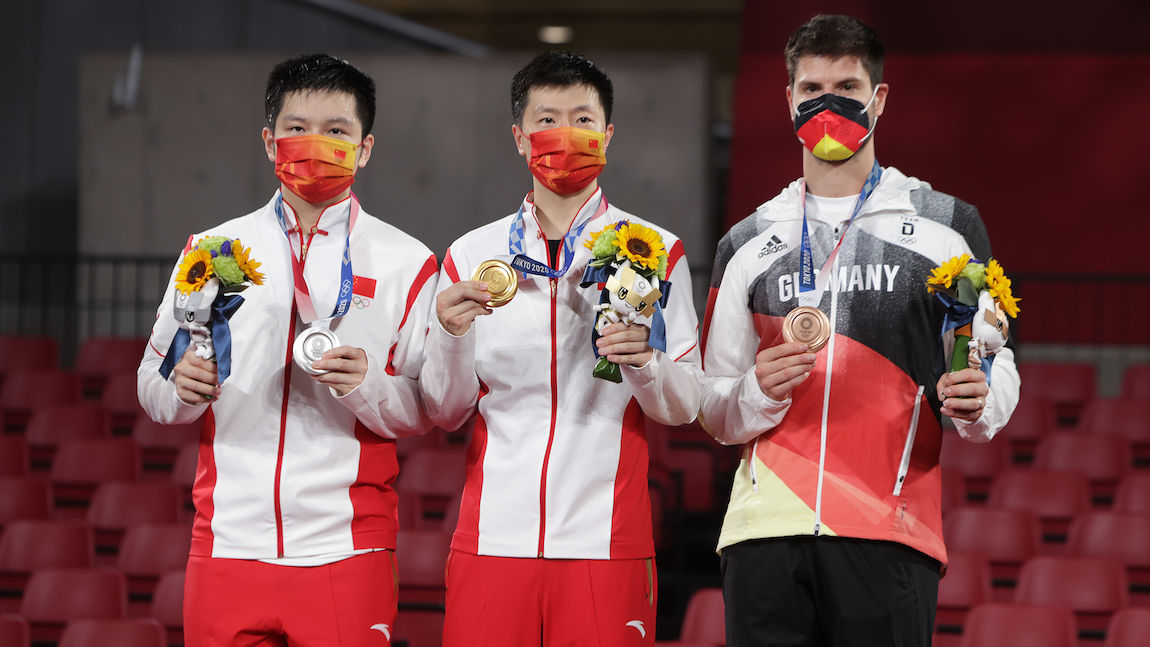 Dimitrij OVTCHAROV clinched bronze at the 2020 Tokyo