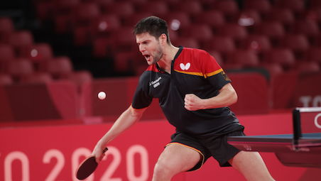 Dimitrij OVTCHAROV reached the penultimate stage of the Singles Event at the 2020 Tokyo Olympics