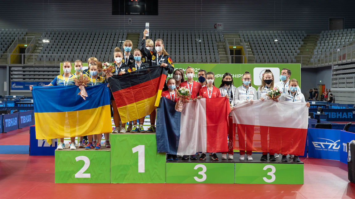 France and Germany win European cadet team titles