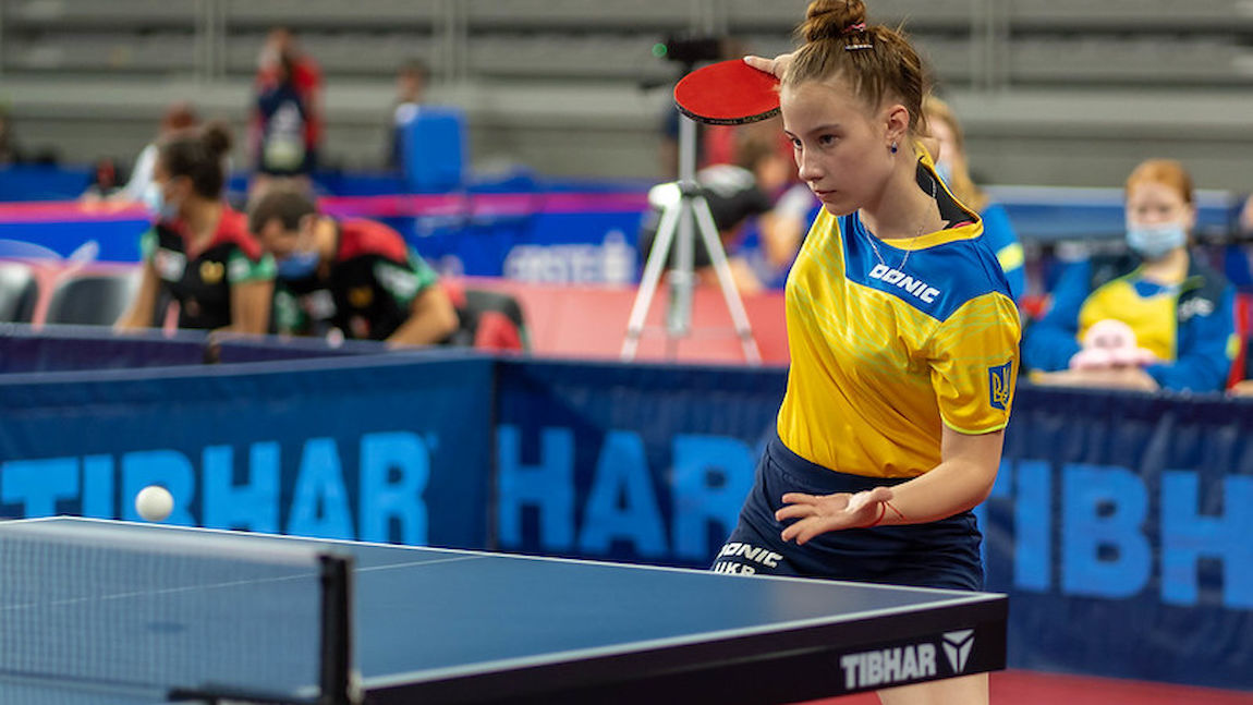 Germany and Ukraine will play for gold in Under 15 Girls Team's Event