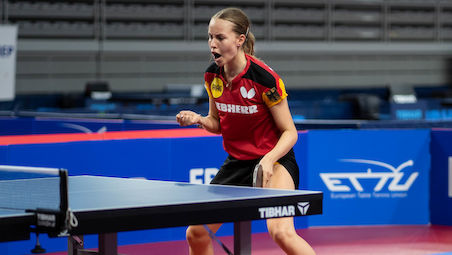 Annett KAUFMANN won the title in young- SAMSONOV's style
