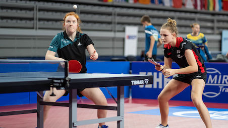 Sophie EARLEY together with Silvia COLL brought Ireland first medal ever at the European championships