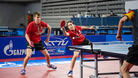 Milosz REDZIMSKI and Wiktoria WROBEL clinched the title in Mixed Doubles
