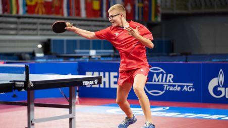 Felix LEBRUN crowned champion in Under 15 Singles