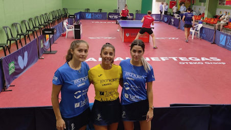Tecnigen Linares opened the TAMANNEFTEGAS ECLW with the win