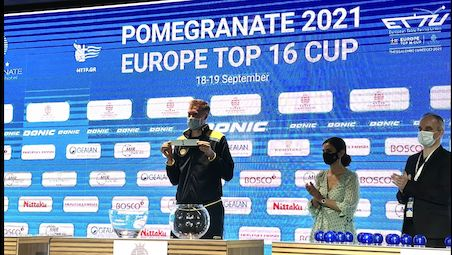 The draw for the POMEGRANATE Europe Top 16 Cup