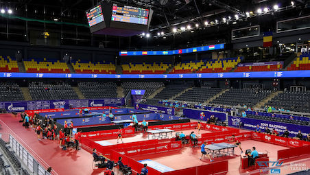 Top teams enters the stage on day 2 at the GAZPROM European Team Championships