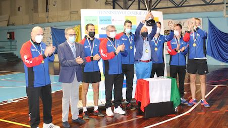Apuania Carrara beat Top Spin Messina and won their first title in Italian Super Cup