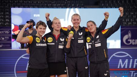 Germany's rejuvenated team clinched gold in Cluj
