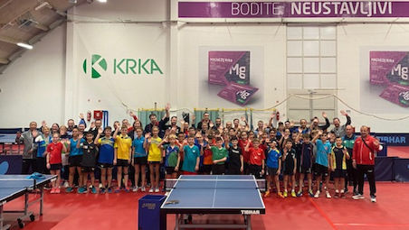 Eurotalents Selection Camp U-13 commenced in Otocec